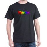 Rainbow Curly T-Shirt