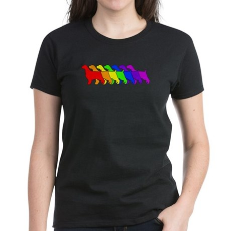 Rainbow Springer Women's Dark T-Shirt