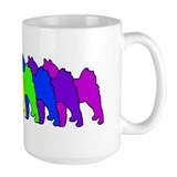 Rainbow Finnish Spitz Coffee Mug