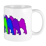 Rainbow Finnish Spitz Small Mug