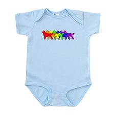 Rainbow Flatcoat Infant Bodysuit