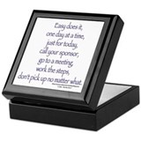 Easy does it! Keepsake Box