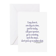 Easy does it! Greeting Cards (Pk of 10)