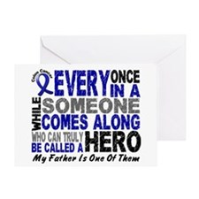 HERO Comes Along 1 Father CC Greeting Card