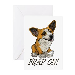 Corgi FRAP Greeting Cards (Pk of 20)
