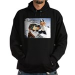 Snowball Fight Hoodie (dark)
