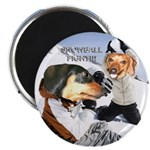 Snowball Fight Magnet