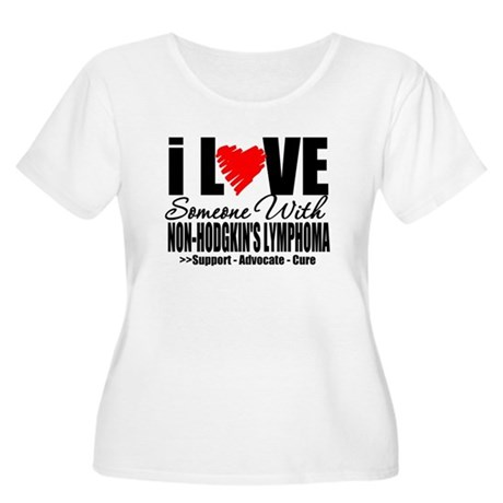 ILoveSomeone w/NonHodge Women's Plus Size Scoop Ne