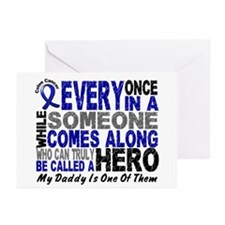 HERO Comes Along 1 Daddy CC Greeting Cards (Pk of
