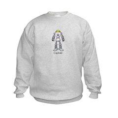 Kids Sweatshirt - Captain