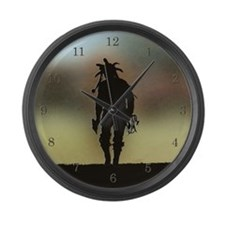 Journey Large Wall Clock