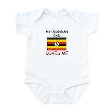 My UGANDAN DAD Loves Me Infant Bodysuit