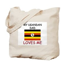 My UGANDAN DAD Loves Me Tote Bag
