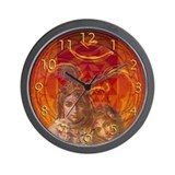 Om Krishna Wall Clock