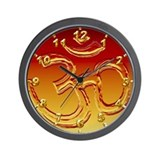 OM Sunset Wall Clock