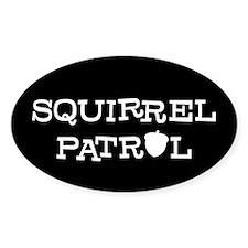 SQUIRREL PATROL Oval Sticker (50 pk)