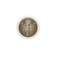 CNA Caduceus Mini Button (10 pack)