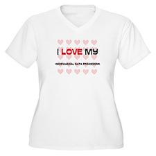 I Love My Geophysical Data Processor T-Shirt