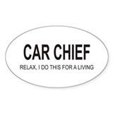 Car Chief Oval Decal