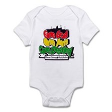 One God One Aim One Destiny Infant Bodysuit