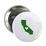 "Green California 2.25"" Button (10 pack)"