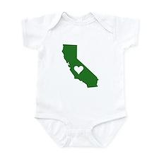 Green California Onesie
