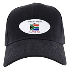 My SOUTH AFRICAN DAD Loves Me Baseball Cap