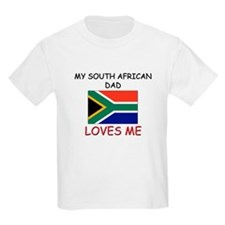 My SOUTH AFRICAN DAD Loves Me T-Shirt
