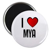 "I LOVE MYA 2.25"" Magnet (10 pack)"