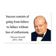 Winston Churchill 21 Mini Poster Print