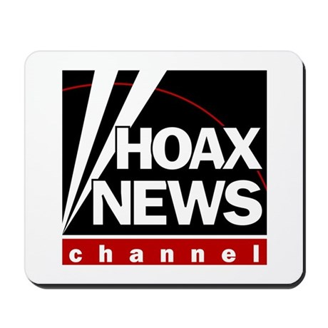 Hoax News Mousepad