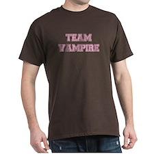 TEAM VAMPIRE (pink) T-Shirt