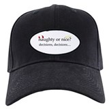 Naughty or Nice? Baseball Cap