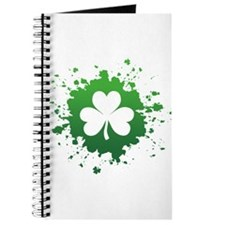 Splatter Shamrock Journal