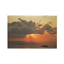 Sunset I - Rectangle Magnet