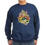 Springtime Easter Basket Sweatshirt (dark)