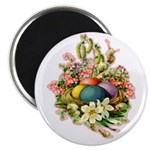 Springtime Easter Basket Magnet