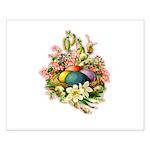 Springtime Easter Basket Small Poster