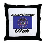 Saint George Utah Throw Pillow