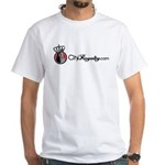 CityRoyalty.com Signature White T-Shirt
