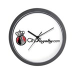 CityRoyalty.com Signature Wall Clock
