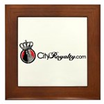 CityRoyalty.com Signature Framed Tile