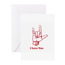 I love You Greeting Cards (Pk of 20)