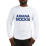 ariana rocks Long Sleeve T-Shirt
