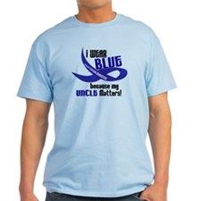I Wear Blue For My Uncle 33 CC T-Shirt