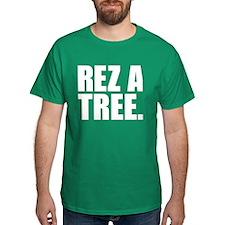REZ A TREE. Shirt