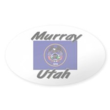 Murray Utah Oval Decal