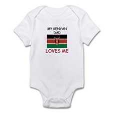 My KENYAN DAD Loves Me Infant Bodysuit