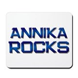annika rocks Mousepad