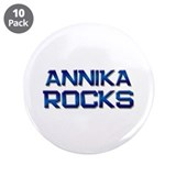 "annika rocks 3.5"" Button (10 pack)"